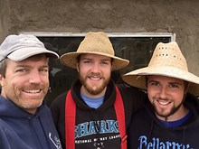 Meyercord, along with alumni volunteers Kevin McFeely and Tony Ferrari on the Tijuana Immersion