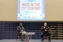 San Jose Police Chief Eddie Garcia spoke at Bellarmine College Prep's Summit on Human Dignity